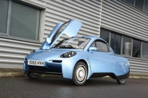 Hydrogen-fuelled car