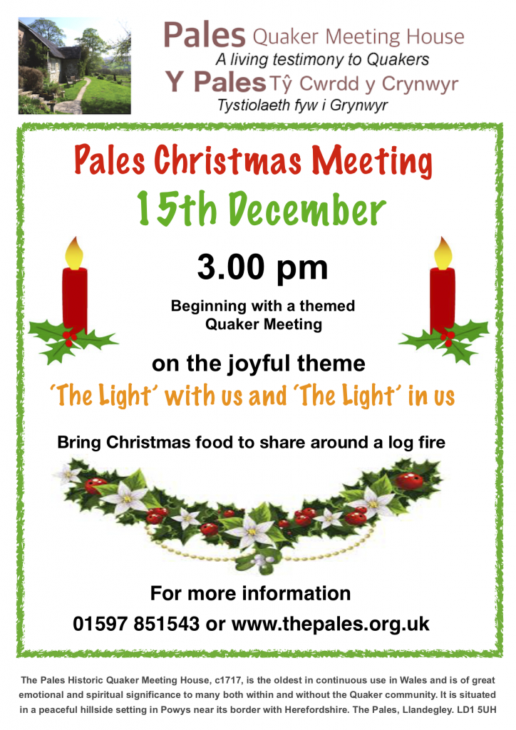 Pales Christmas Meeting